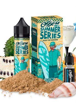 Ossem Juice – Summer Series – Hawaii Soursop Orange 50ml + Cooling Booster 5ml (Shortfill)
