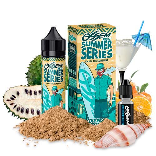 47638 9385 ossem juice summer series hawaii soursop orange 50ml cooling booster 5ml shortfill
