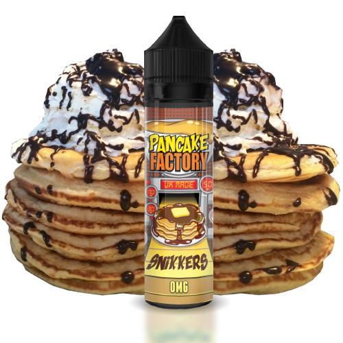 47810 2444 pancake factory snikkers 50ml shortfill 1