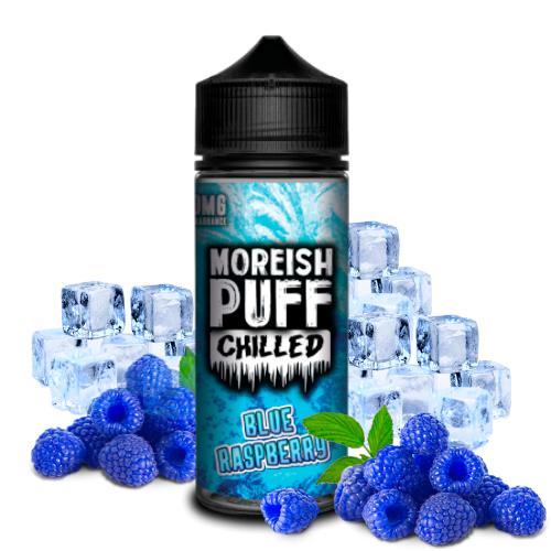 47910 2379 moreish puff chilled blue raspberry 100ml shortfill