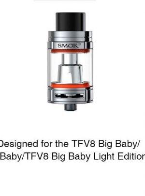SMOK Bulb Pyrex Glass Tube #1 for TFV8 Big Baby/X-Baby 7ml