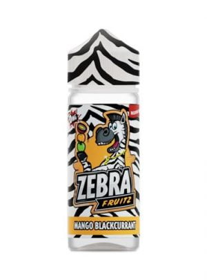 Zebra Juice Fruitz Mango Blackcurrant (Shortfill)