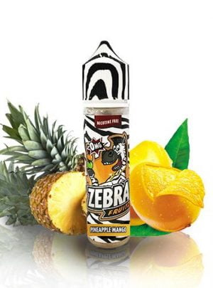 Zebra Juice Fruitz Pineapple Mango (Shortfill)