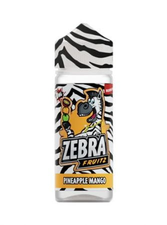 47973 9089 zebra juice fruitz pineapple mango 50ml shortfill 1