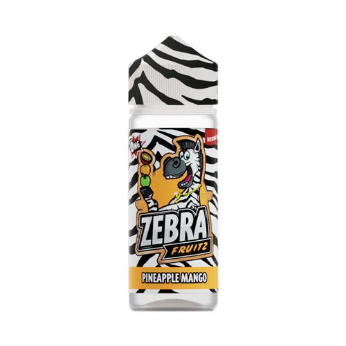47973 9089 zebra juice fruitz pineapple mango 50ml shortfill 1