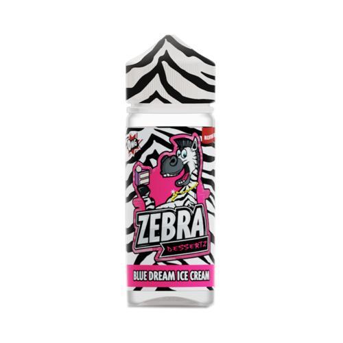 Zebra Juice Dessertz Blue Dream Ice Cream (Shortfill) tienda de E-liquids