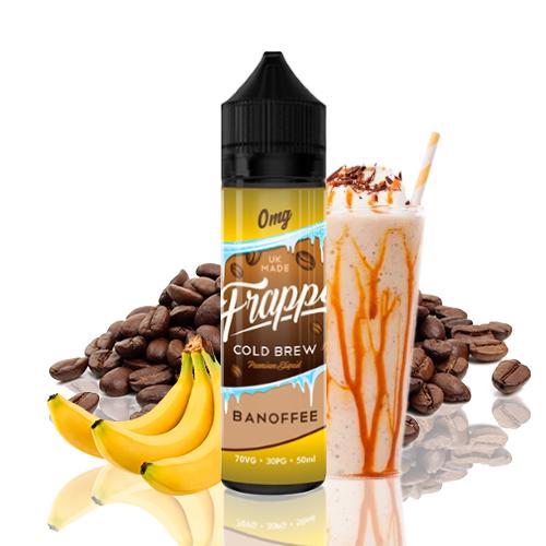 cafe con un toque de plátano