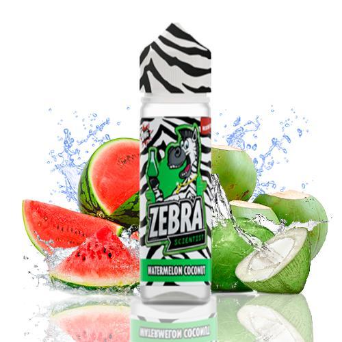 48212 4073 zebra juice scientist watermelon coconut 50ml shortfill