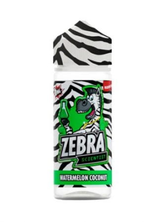 48212 9559 zebra juice scientist watermelon coconut 50ml shortfill