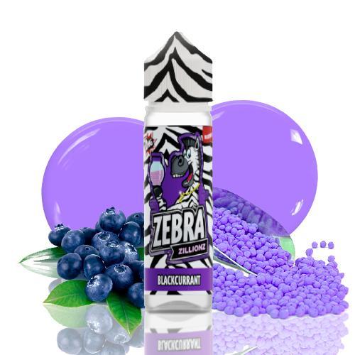 48311 2463 zebra juice zillionz blackcurrant 50ml shortfill