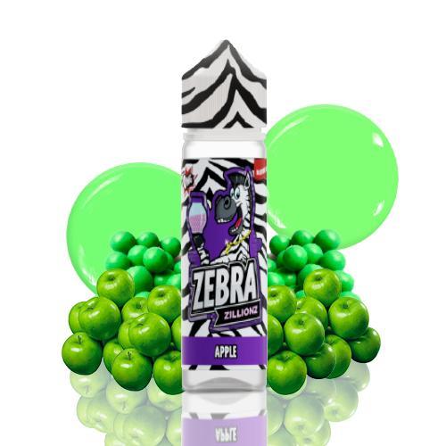 48312 6553 zebra juice zillionz apple 5ml shortfill 2