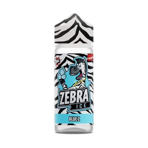 48335 3972 zebra jucie ice blue z 50ml shortfill