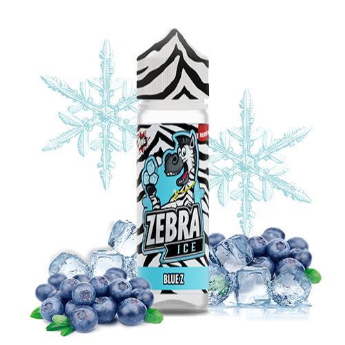 48335 5862 zebra jucie ice blue z 50ml shortfill