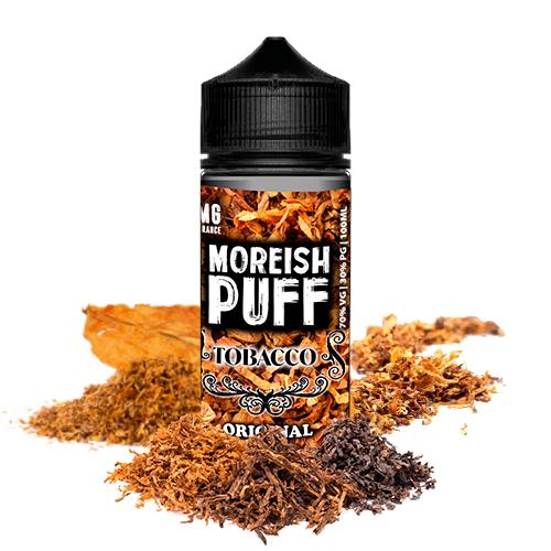48351 7523 moreish puff tobacco original 100ml shortfill