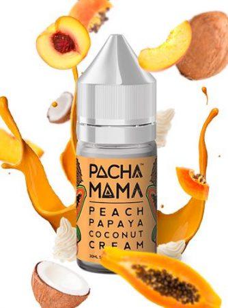 pachamama peach papaya coconut