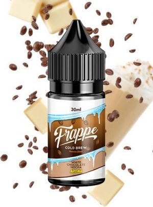 frappe aroma mocha chocolate blanco