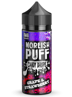 Moreish Puff Candy Drops Grape Strawberry (Shortfill)