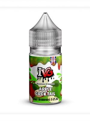 cóctel de manzana verde batido