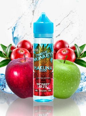 Twelve Monkeys Ice Age Hakuna 50ml (Shortfill)