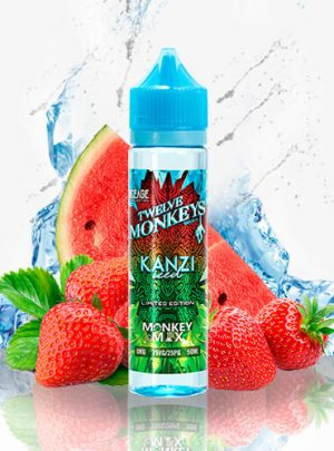 Twelve Monkeys Ice Age Kanzi 50ml (Shortfill)