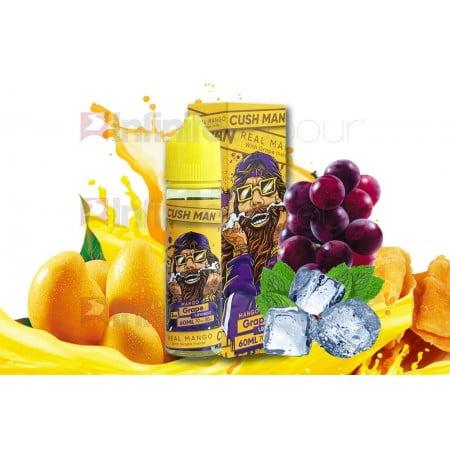 cush man series by nasty juice grape mango e liquid 50ml